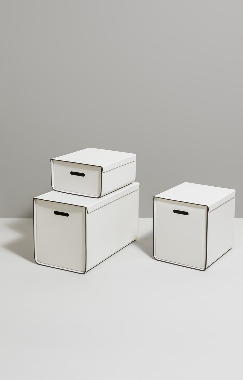 STORAGE PINETTI WHITE BOXES