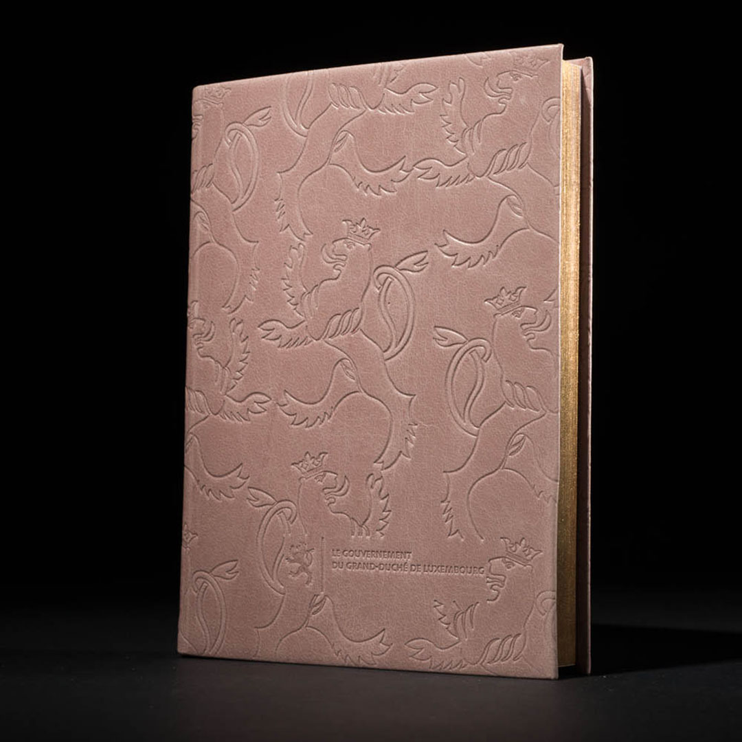 luxury GIFT book cover pinetti
