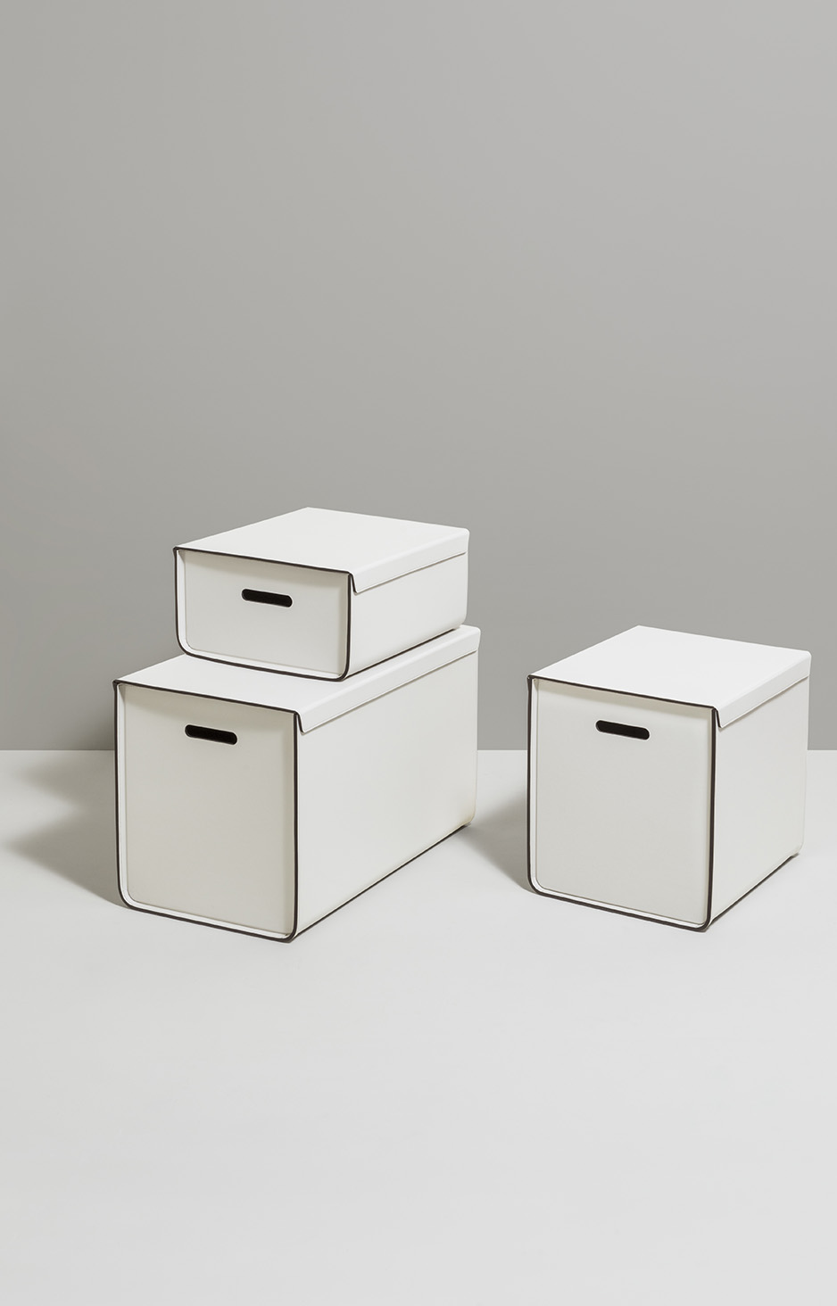 STORAGE PINETTI WHITE BOXES